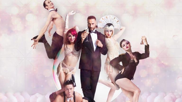 Cabaret sensation Blanc de Blanc will play every night under The Spiegeltent in Canberra.