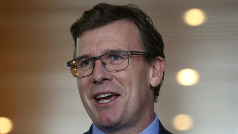 Cities Minister Alan Tudge was at the annual Australian Hotels Association lunch.