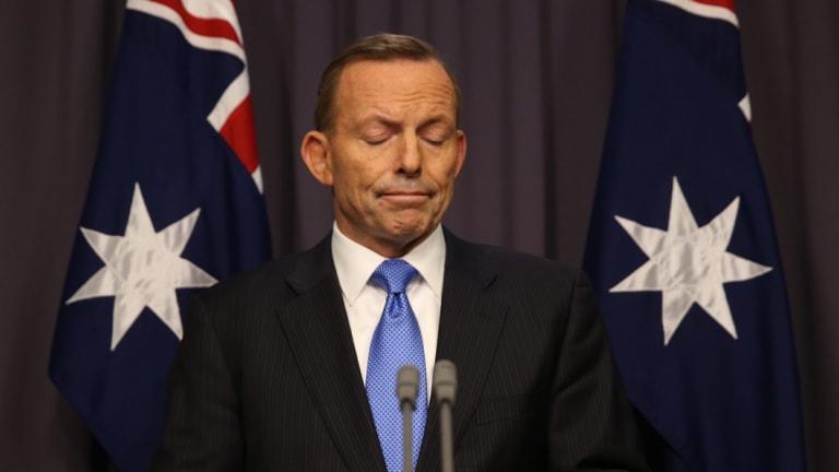 Prime Minister Abbott responds to Malcolm Turnbull's leadership challenge, September 2015.