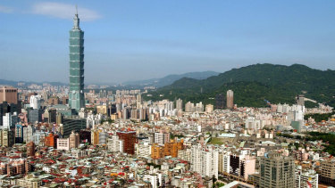 The Taipei 101 building was the tallest in the world when it opened in 2004.