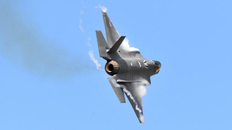 Australia's newest warplane, the F-35 Joint Strike Fighter.