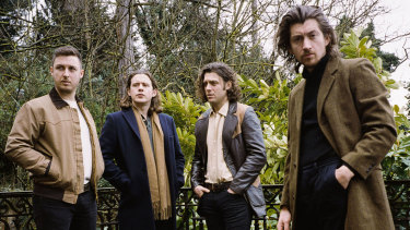 Arctic Monkeys are back in Australia for a national tour.