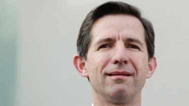 Trade Minister Simon Birmingham says Australia's free trade deals will provide insurance against US-China trade battle
