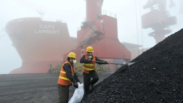 Australian coal imports are waiting up to two months to pass Chinese customs clearance, compared to coal from Indonesia.