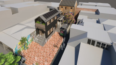 Plans for the new La Mama Theatre have been submitted to Melbourne City Council and Heritage Victoria for approval.