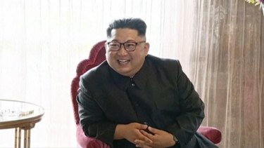 North Korean leader Kim Jong-un appears to be relaxing the rules a little.