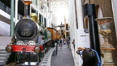 The Powerhouse Mueusm's Locomotive No.1.