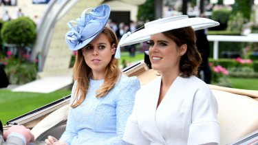 The royal sisters Beatrice (left) and Eugenie have often had their fashion choices unfavourably scrutinised.