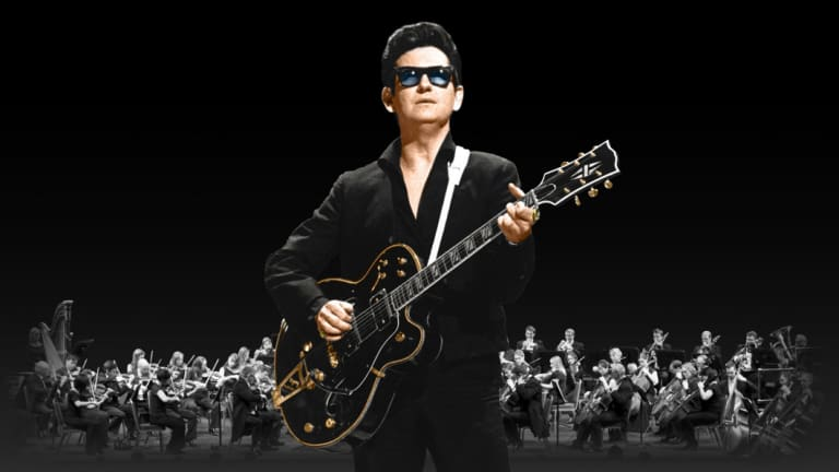 The 'virtual' Roy Orbison, backed by an orchestra.