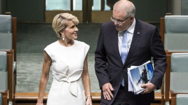 Julie Bishop forged a reputation, good and bad, for her brand of 'fashion diplomacy'.
