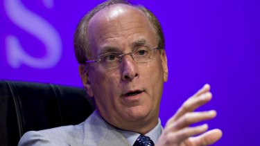 """""""I feel firsthand the pressures companies face in today's polarised environment and the challenges of effectively navigating them"""": BlackRock chief Larry Fink."""
