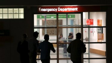 Record numbers of patients are flooding NSW emergency departments.