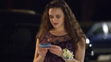 Katherine Langford stars as Hannah Baker in 13 Reasons Why.
