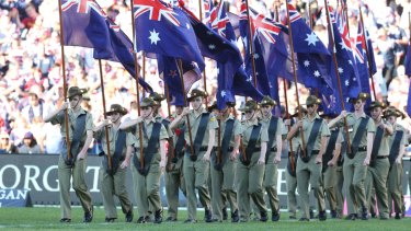 New digs: The ANZAC Day clash will have to be moved - but not far.