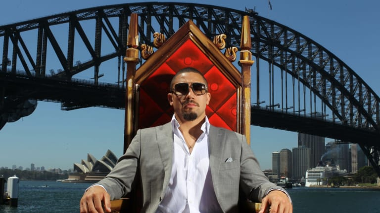 Watch the throne: Robert Whittaker won't be able to defend his title until next year.