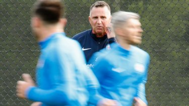 Melbourne City coach Warren Joyce is excited about his youngsters, despite losing Daniel Arzani.