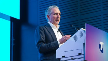 Telstra CEO Andy Penn says exclusive 5G phones are coming in the next six months.
