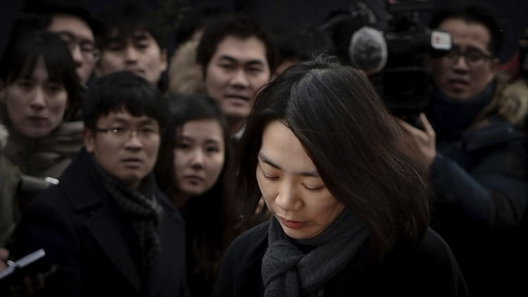 Heather Cho made headlines over a notorious incident in 2014.