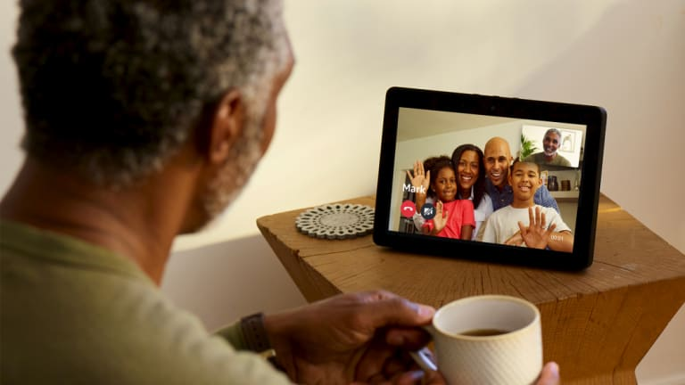 Video calls work great, as long as your friends and family are also using Amazon gear.