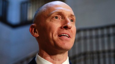 Former Trump campaign adviser Carter Page.