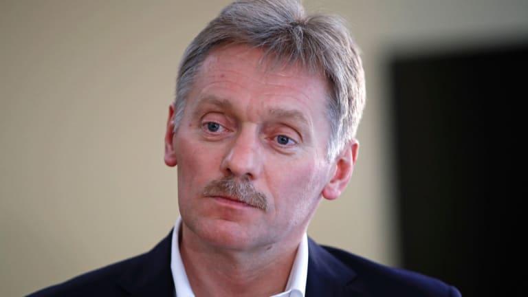 President Vladimir Putin's spokesman Dmitry Peskov.