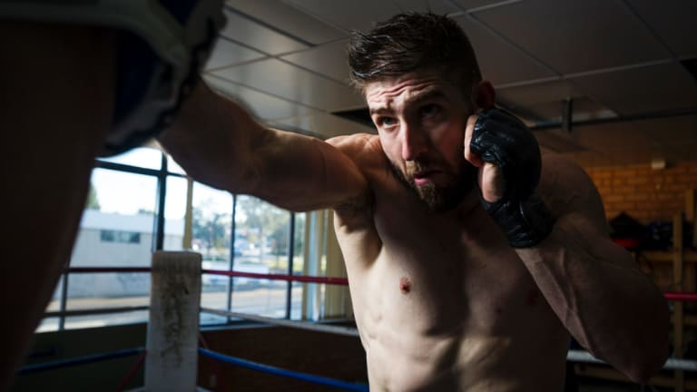 Duke Didier is one of the faces of MMA in Canberra.