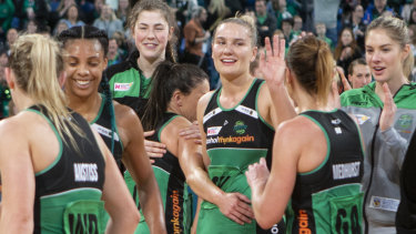 West Coast Fever earned a week off and a home grand final after defeating Giants.