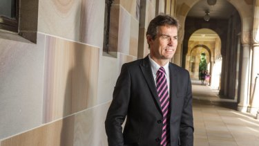 University of Queensland vice-chancellor Peter Høj.