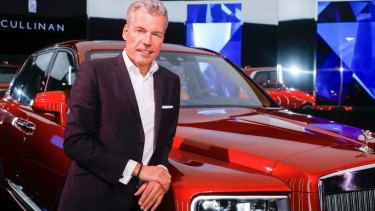 Rolls-Royce chief Torsten Mueller-Oetvoes.