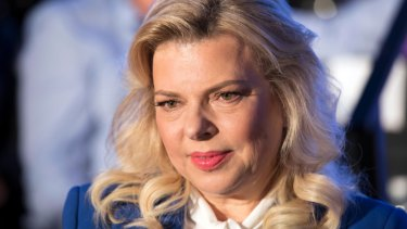 Charged with fraud: Sara Netanyahu.