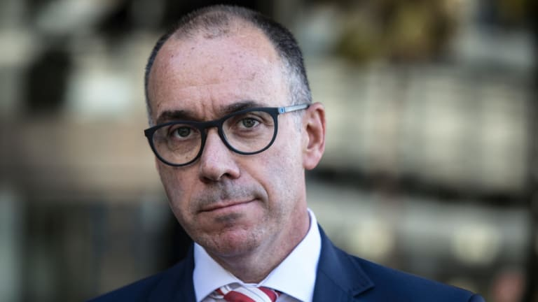 NAB CEO Andrew Thorburn was appointed to the top job at the bank in August 2014.