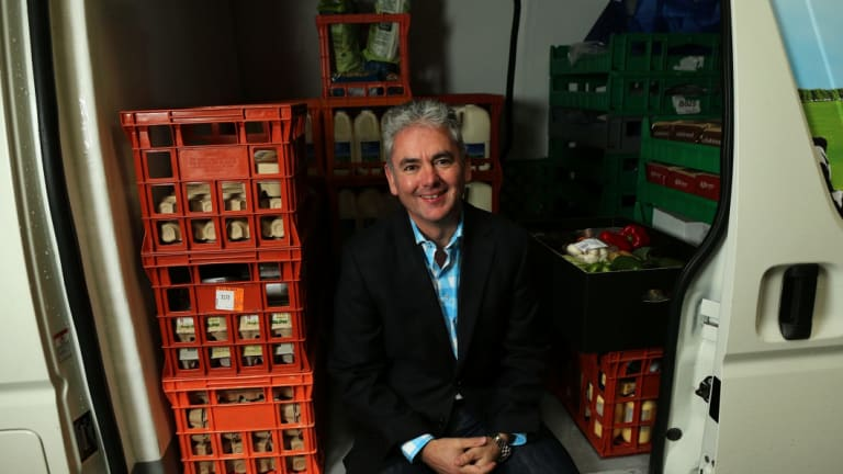Former Aussie Farmers Direct chief executive Keith Louie