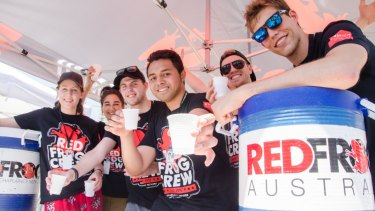 Red Frogs crews watch out for schoolies in Bali and other popular destinations.