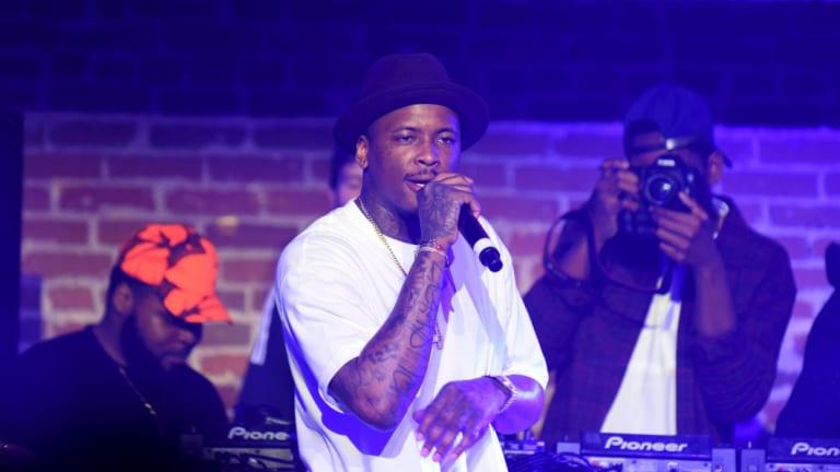 Rapper YG performing in Los Angeles last year.