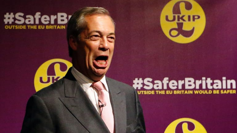 Former UK Independence Party leader Nigel Farage is heading to Perth in September.
