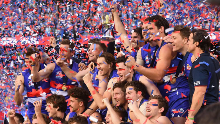 The Bulldogs' famous 2016 premiership: helped by the pre-finals break.