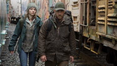Tom (Thomasin Mckenzie) and Will (Ben Foster) in Debra Granika's drama Leave No Trace.