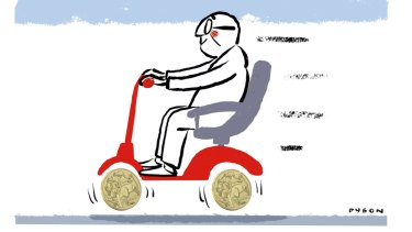 Far too many Australians have multiple superannuation accounts. Illustration: Andrew Dyson