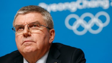 Man to impress: IOC boss Thomas Bach will be on the Gold Coast in May as Qld pushes for the 2032 Games.