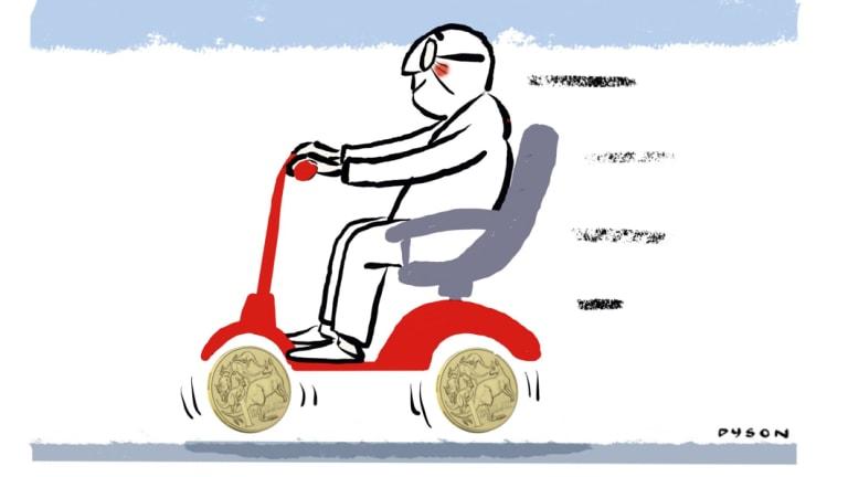 Far too many Australians have multiple superannuation accounts. Illustration: Andrew Dyson