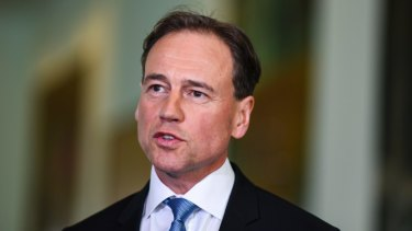 Greg Hunt said the new funding model gives mental health professionals job security.