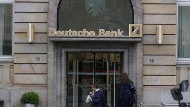 Deutsche Bank is Europe's biggest investment bank.