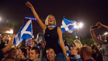 Scots, who voted against independence when Britain was in the EU, may view the United Kingdom differently now.