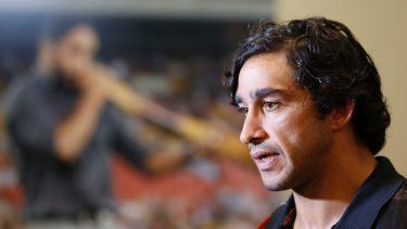 All Stars and all class: Johnathan Thurston has been a strong advocate for Indigenous causes.