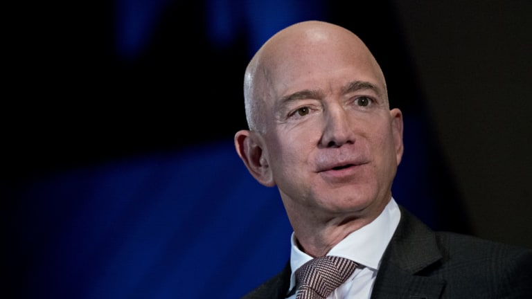 """""""Amazon is not too big to fail,"""" reckons its founder Jeff Bezos."""