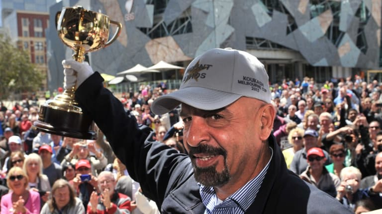 Marwan Koukash after the 2013 Melbourne Cup parade.