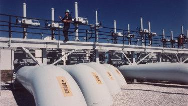 The St James Terminal in Baton Rouge, Louisiana, that serves the US Strategic Petroleum Reserve.