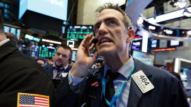 Tech shares crumbled on Wall Street.