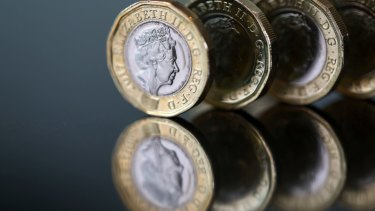 Market watchers have been keeping a keen eye on the pound.