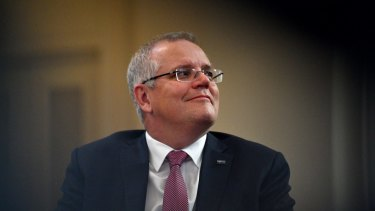 This year's man of the moment: Prime Minister Scott Morrison.